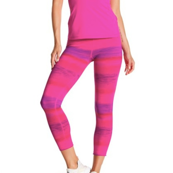 MSP by Miraclesuit Pants - MSP by Miraclesuit Ombre Cropped Leggings